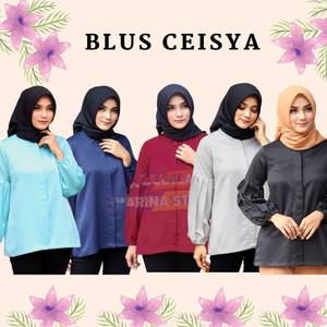 Harga rocella blus ceisya blus polos blus formal blus remaja blus casual   pilih warna | HARGALOKA.COM