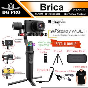 Harga brica b steady   bsteady multi   3 axis gimbal stabilizer kamera     HARGALOKA.COM