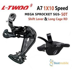 Harga ltwoo a7 1x 10 speed long cage sgs 50t cocok sepeda mtb rd | HARGALOKA.COM