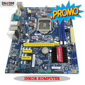 Harga motherboard intel lga 1155 h61 processor pentium g   | HARGALOKA.COM