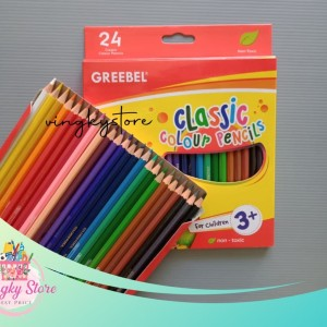 Harga pensil warna classic 24 warna | HARGALOKA.COM