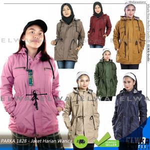 Harga parka 1828 banyak warna jaket parka original parasut panjang wanita   navy allsize m | HARGALOKA.COM