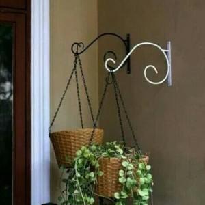 Harga besi gantungan pot bunga gantungan hiasan dinding gantungan sangkar     HARGALOKA.COM