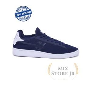 Harga sepatu casual pria knitted navy   h 5675 hrcn   | HARGALOKA.COM