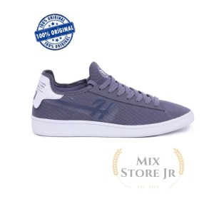 Harga sepatu casual pria knitted grey   h 5674 hrcn   | HARGALOKA.COM