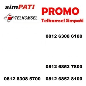 Harga promo nomor cantik simpati 4g kartu perdana telkomsel ratusan | HARGALOKA.COM