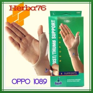 Harga deker pergelangan tangan wrist   thumb support oppo 1089   HARGALOKA.COM