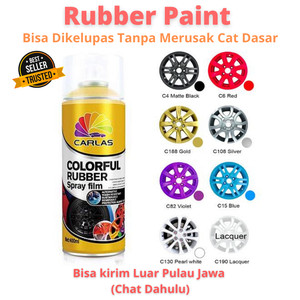 Info Carlas Rubber Paint Black C4 Hitam Doff Katalog.or.id
