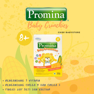 Harga promina crunchies 20gram snack bayi makanan anak sehat | HARGALOKA.COM