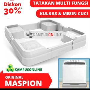 Harga tatakan alas mesin cuci dan kulkas original maspion awet multi   HARGALOKA.COM