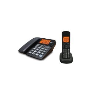 Harga uniden at4503 fsk dtmf caller id layar besar dengan backlit biru   HARGALOKA.COM