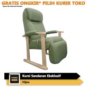 Harga funika prime kursi exclusive dengan sandaran kaki  hijau 26570wo kpg   HARGALOKA.COM