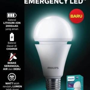 Harga lampu murah lampu emergency led philips 7w | HARGALOKA.COM