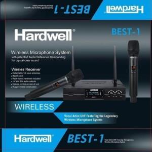 Harga mic wireles hardwell best1 2mic jepit 2mic headset ory hardwell best | HARGALOKA.COM