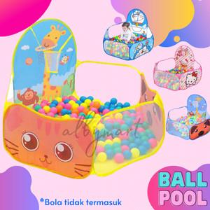 Harga mainan anak kolam mandi bola keranjang mandi bola basket   pink | HARGALOKA.COM