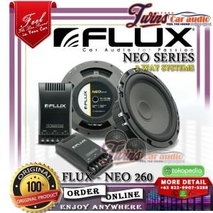 Harga speaker split flux neo 260 speaker split 2 way original | HARGALOKA.COM