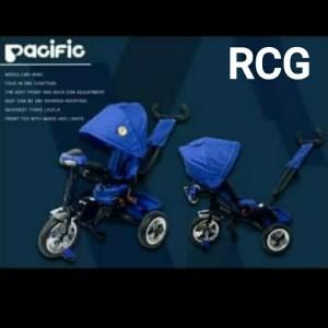 Harga sepeda roda 3 tricycle pacificbaby lmx 809 pacific | HARGALOKA.COM