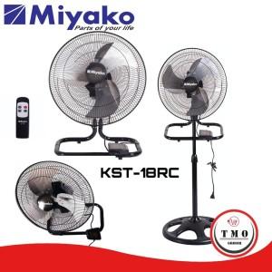 Harga Kipas Angin Miyako Industrial Fan Kst18rc 3in1 Remote Katalog.or.id