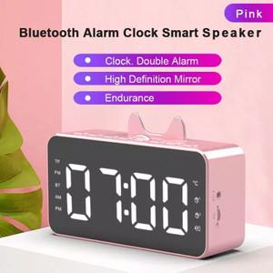 Harga speaker jam bluetooth portable q 5 dan q 9 wireless bass alaram   q 9 kuping | HARGALOKA.COM