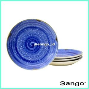 Harga piring makan ultramarine set of 4 sango high   HARGALOKA.COM
