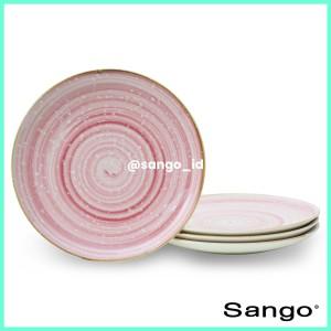 Harga sango set piring makan baby pink high coupe isi 4   HARGALOKA.COM