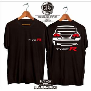 Harga kaos baju mobil honda civic fd rear type r otomotif   gilan | HARGALOKA.COM