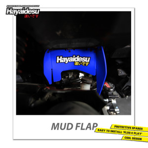 Harga hayaidesu mud flap penahan lumpur motor honda vario fi   japan quality   | HARGALOKA.COM