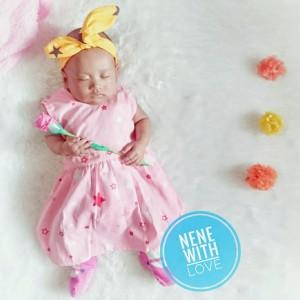 Harga baju bayi perempuan dress bayi princess premium seri baby   motif   HARGALOKA.COM