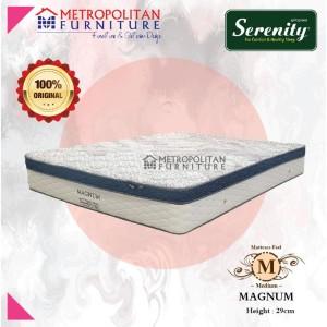 Harga springbed elite serenity magnum kasur spring bed plush top   | HARGALOKA.COM