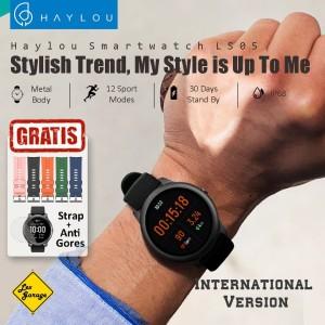 Harga smartwatch xiaomi haylou solar ls05 global version smart watch   hitam | HARGALOKA.COM