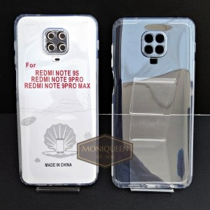 Harga case redmi note 9 pro premium clear soft case bening transparan   HARGALOKA.COM