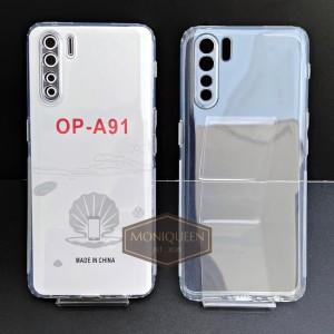 Harga case oppo a91 premium clear soft case bening transparan   HARGALOKA.COM