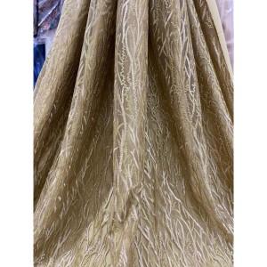 Harga bahan kain tille motif akar untuk gaun pesta | HARGALOKA.COM