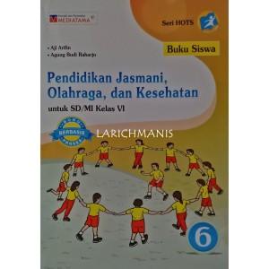 Harga buku pendidikan jasmani olahraga dan kesehatan kelas vi | HARGALOKA.COM