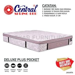 Harga kasur central deluxe plus pocket 100 x 200   mekar | HARGALOKA.COM