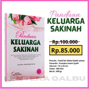 Harga buku panduan keluarga sakinah pernikahan dalam islam dan rumah | HARGALOKA.COM
