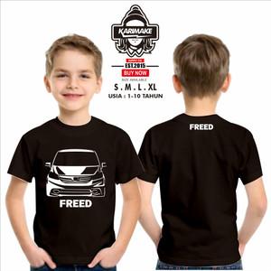 Harga kaos baju anak honda freed kaos otomotif   | HARGALOKA.COM