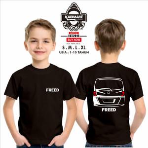Harga kaos baju anak honda freed rear kaos otomotif   | HARGALOKA.COM