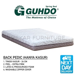 Harga back pedic   kasur merk guhdo   mekar furniture   90 x | HARGALOKA.COM