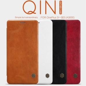 Harga oneplus one plus 3 3t nillkin qin leather original flip cover | HARGALOKA.COM