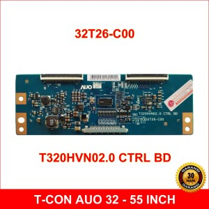 Harga t con samsung   t320hvn02 0   32t26 c00   tcon tv lcd led auo   | HARGALOKA.COM