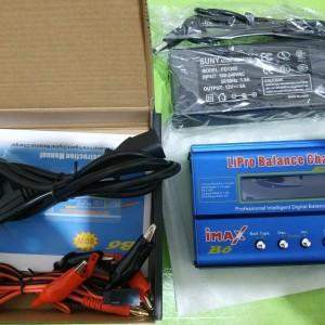 Harga charger imax b6 plus adaptor dc balance t dean lipo | HARGALOKA.COM