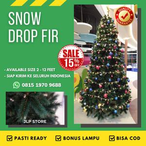 Katalog Pinus Paket Isi 6 Hiasan Pohon Natal Salju Dekorasi White Christmas Katalog.or.id