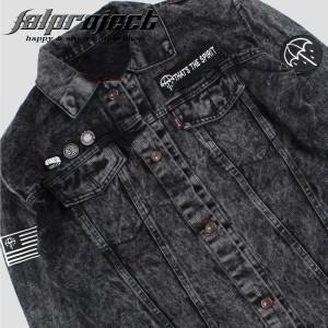 Harga jaket jeans pria jaket denim pria fashionnable stone black bmth   005   bmth   005 | HARGALOKA.COM
