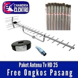 Harga pasang antena tv hd 25 free | HARGALOKA.COM