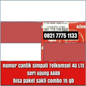 Harga kartu telkomsel 4g lte simpati sakti combo paket telepon sms | HARGALOKA.COM