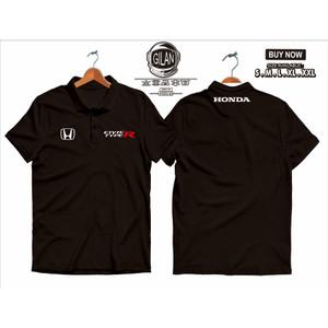 Harga polo shirt kaos kerah mobil honda civic type r kaos otomotif   | HARGALOKA.COM