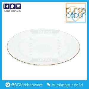 Harga bursa dapur indo keramik gold lining piring dessert plate 8 34   HARGALOKA.COM
