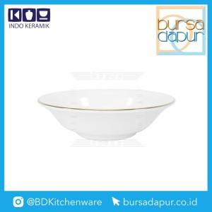 Harga bursa dapur indo keramik gold lining fruit mangkok puding 5 5 34 mk 5   HARGALOKA.COM