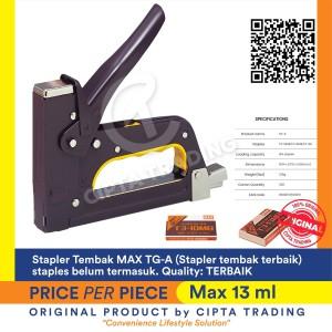 Harga stapler   max   gun tacker tg a stapler tembak | HARGALOKA.COM